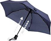 EuroSchirm Dainty Automatic paraplu blauw