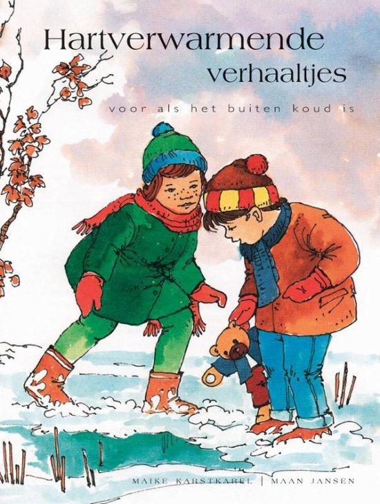 Cover van het boek 'Hartverwarmende verhaaltjes' van Maike Karstkarel