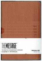 Message Bible, Personal Size, Saddle Tan