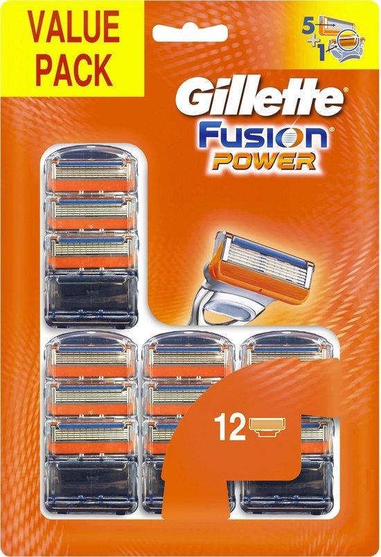 Gillette Fusion Power, 12 stuks