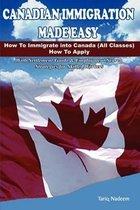 Boek cover Canadian Immigration Made Easy van Tariq Nadeem