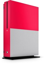 Xbox One S Console Skin Basic Rood