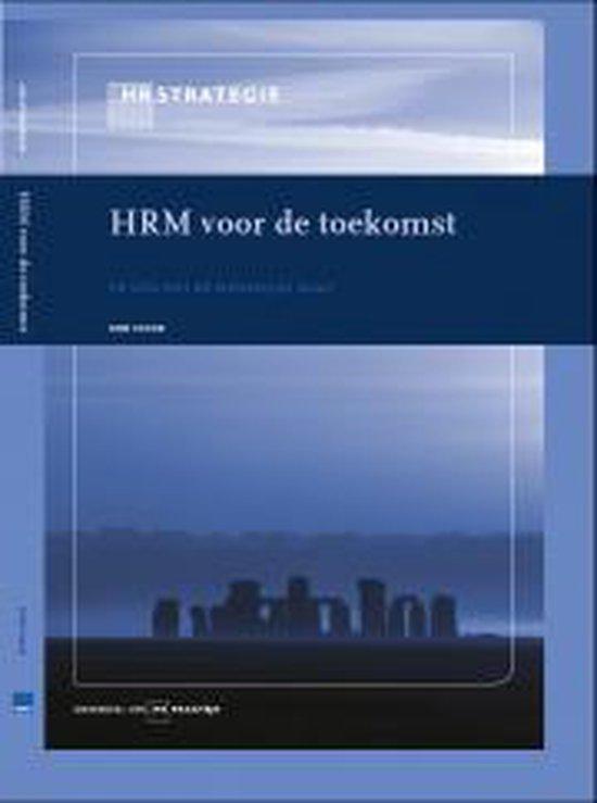 HRM voor de toekomst - Rob Vinke |