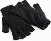 Regatta Vingerloze gebreide Handschoen - S/M - Zwart