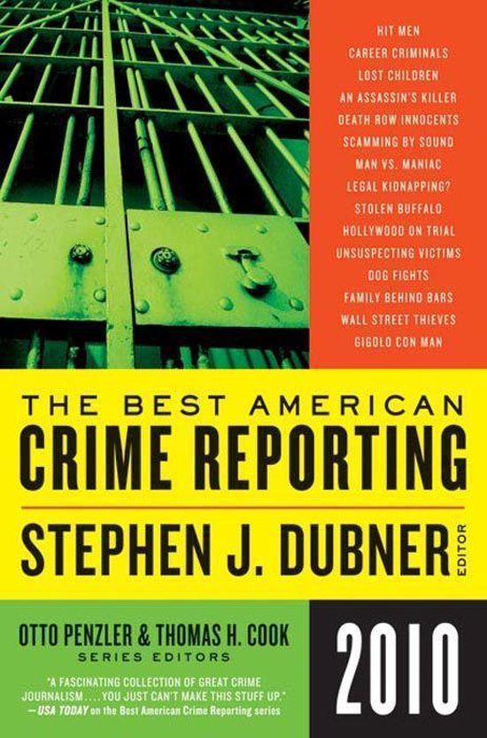 Omslag van Selections from The Best American Crime Reporting 2010
