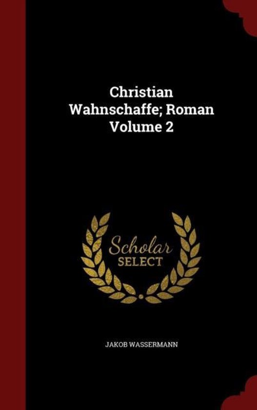 Christian Wahnschaffe; Roman; Volume 2
