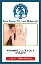 Knowing God's Voice for Students