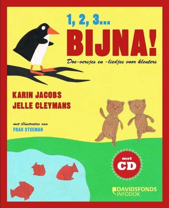 Cover van het boek '1,2,3 bijna' van Karin Jacobs