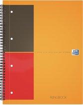 Oxford INTERNATIONAL Filingbook 200 bladzijdenformaat A4+ geruit 5 mm