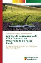 Analise Do Desempenho Da Ete - Campus I Da Universidade de Passo Fundo