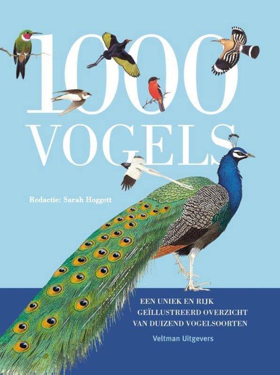 1000 vogels. Een uniek en rijk geïllustreerd overzicht van duizend vogelsoorten - Sarah Hoggett |
