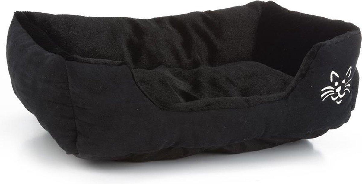 Beeztees Baboo Ligbed kat - Kattenmand - Zwart - 48 x 37 x 18 cm - Beeztees