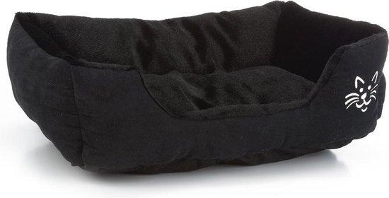 Beeztees Baboo Ligbed kat - Kattenmand - Zwart - 48 x 37 x 18 cm