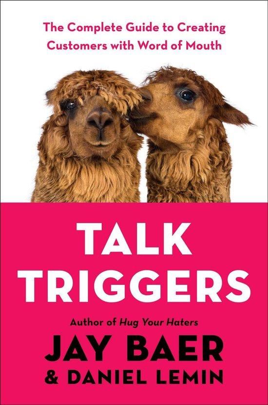 Boek cover Talk Triggers van Jay Baer (Onbekend)