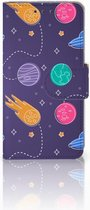 Samsung Galaxy A3 2015 Bookcase Hoesje Space
