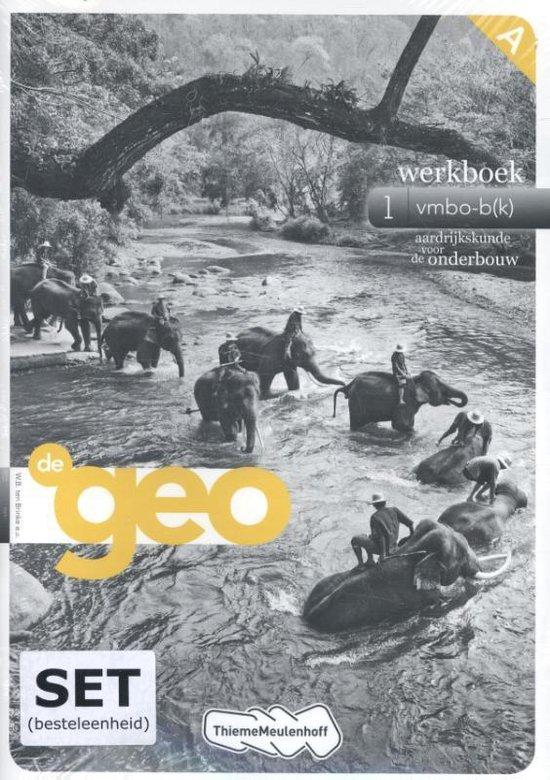 De Geo 1 werkboek vmbo-bk - none |