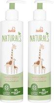 Zwitsal Naturals Shampoo & Wasgel - 2 x 250 ml - Voordeelverpakking