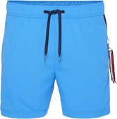 Tommy Hilfiger Zwembroek medium drawstring lichtblauw - blue aster-XL