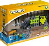Twickto bouwset - speelvoertuig - De bouw - gereedschap - 73 delig - groen en grijs