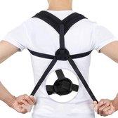 HQ Rugbrace/Schouderbrace - Houding Correctie Brace - Postuur Verbeteraar - One Size - Voorkomt en verhelpt rug, schouder en nekklachten