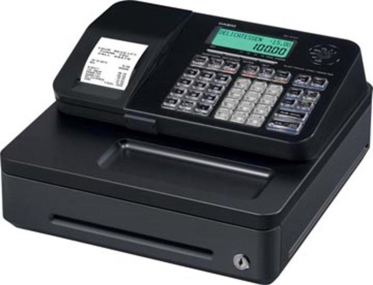 Casio SE-S100 small drawer kassa 2000 PLU's Thermische inkjet LCD