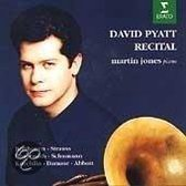 David Pyatt - Recital / Martin Jones