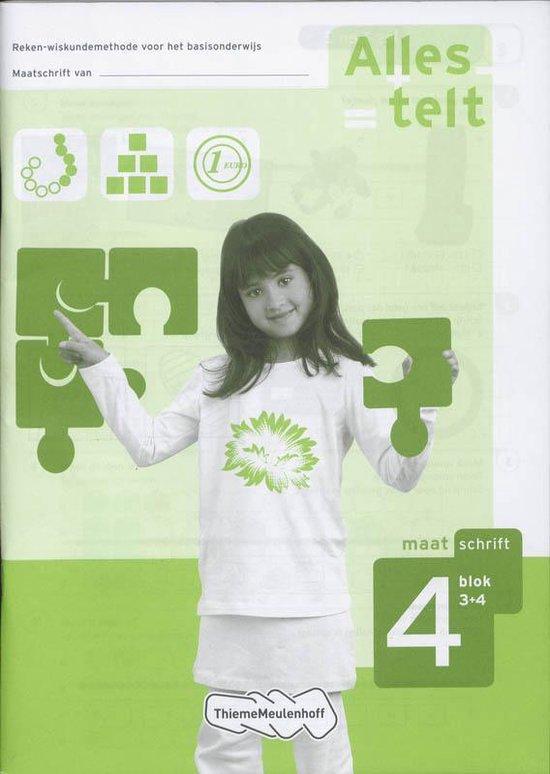 Alles Telt Maatschrift 4 / blok 3+4 - Els van den Bosch-Ploegh pdf epub