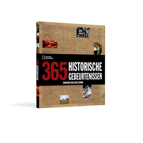 Cover van het boek '1000 historische gebeurtenissen in woord en beeld' van National Geographic