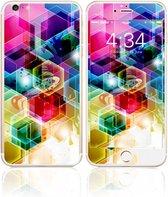 Fema Gehard Glas Bescherming iPhone 6(s) plus - Geometrisch