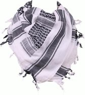 Arafat PLO sjaal zwart/wit