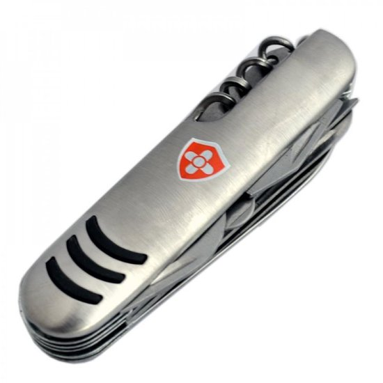 Multifunctioneel Zwitsers Zakmes - Outdoor Survival Swiss Pocket Knife Mes - 11 Functies