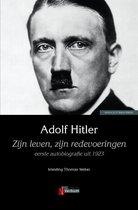 Boek cover Zijn leven, zijn redevoeringen van Adolf Hitler