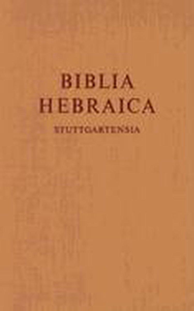 Biblia Hebraica Stuttgartensia - K. Elliger