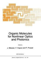 Organic Molecules for Nonlinear Optics and Photonics