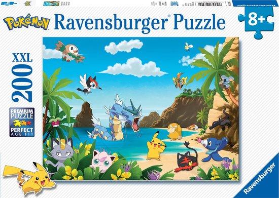 Ravensburger puzzel Pokémon - legpuzzel - 200 XXL stukjes