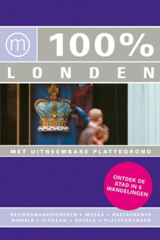 Cover van het boek '100% Londen' van Maaike van Steekelenburg