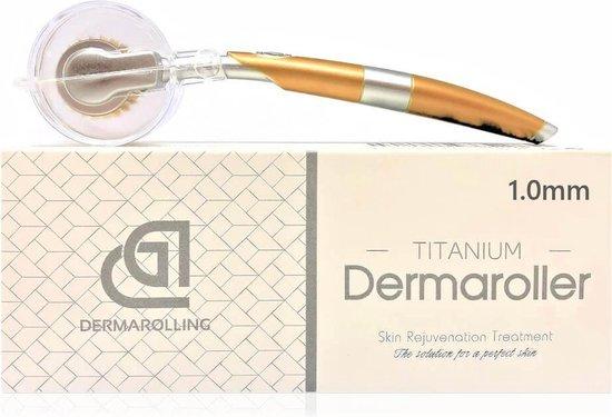 Dermarolling® Titanium Dermaroller - 1.0mm