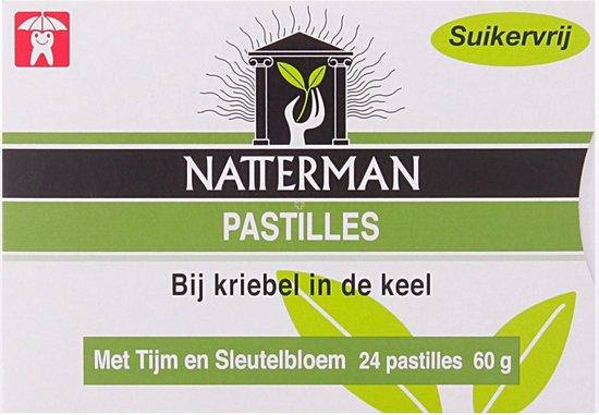 Natterman Tijm & Sleutelbloem - 24 stuks - Hoestpastilles