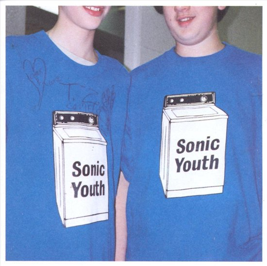 CD cover van Washing Machine van Sonic Youth