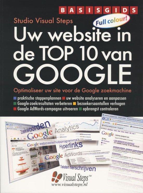 Basisgids Uw website in de top 10 van Google - Studio Visual Steps |