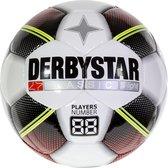 Derbystar Classic TT Superlight Voetbal - Multi Kleuren - 3 Vak Rood Maat 5