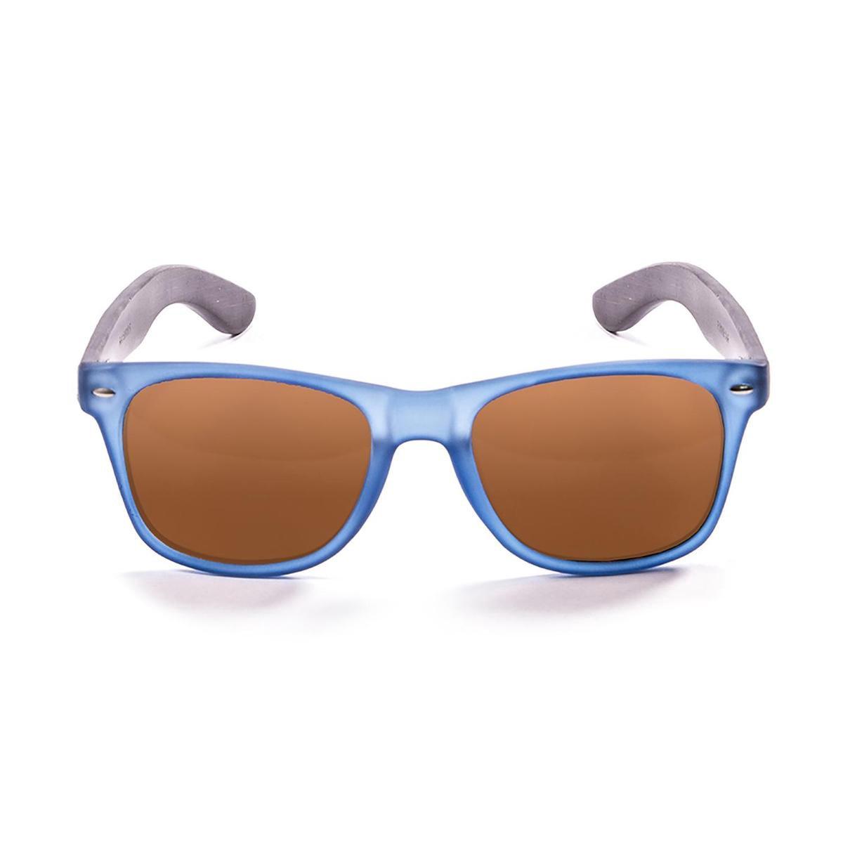 Ocean Sunglasses - BEACH WOOD - Unisex Zonnebril blauw - Ocean Sunglasses