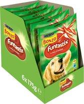 Bonzo Funtastix - Hondensnack Bacon & Kaas - 6 x 175g