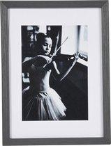 Fotolijst - Henzo - Viola - Fotomaat 10x15 cm - Donkergrijs
