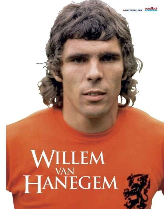 Boek cover Willem Van Hanegem van Johan Derksen (Hardcover)