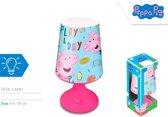 Nickelodeon Nachtlamp Peppa Pig Led Junior 18 Cm Blauw/roze