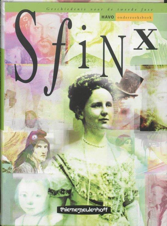 Sfinx / Havo / Deel Onderzoeksboek - Floris van den Berg |