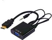 HDMI naar VGA + AUX-audio kabel adapter