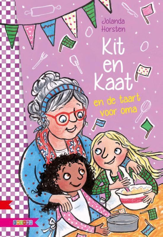 Supermeiden - Kit en Kaat en de taart voor oma - Jolanda Horsten |