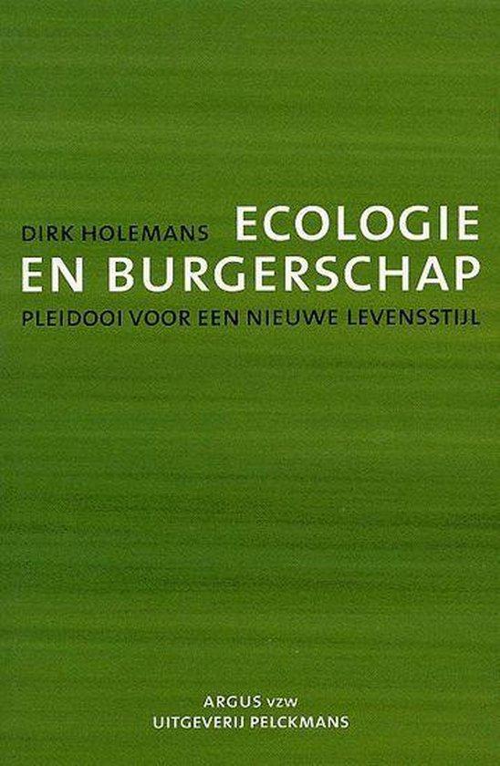 Ecologie en burgerschap - Dirk Holemans |